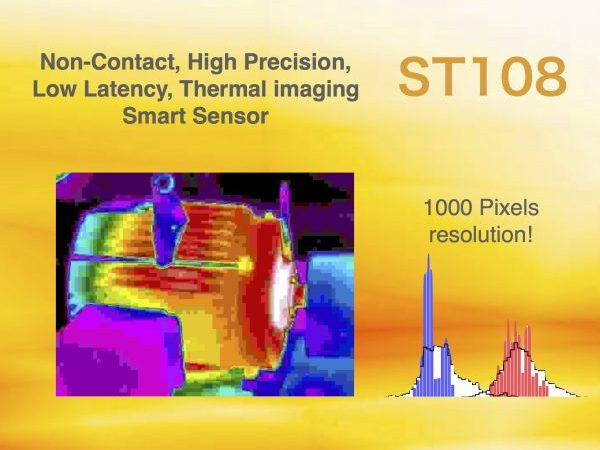 Thermal imaging sensor predictive maintenance